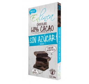 BARRA DE CHOCOLATE 60% CACAO